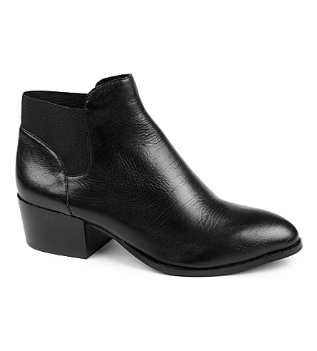KG KURT GEIGER Scout leather Chelsea boots (Black