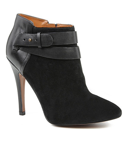 NINE WEST Brettly suede ankle boots (Black