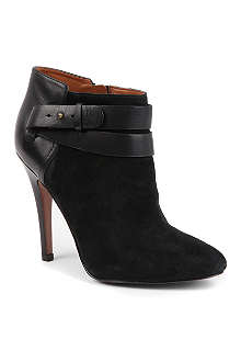NINE WEST Brettly suede ankle boots