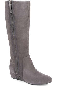 NINE WEST Maleficent-n suede knee-high boots