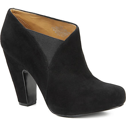 NINE WEST Rockitude suede ankle boots (Black