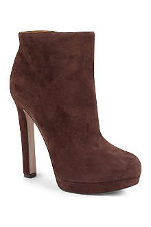 NINE WEST Plumperfct suede ankle boots