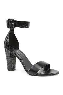 KG BY KURT GEIGER Cristal leather sandals