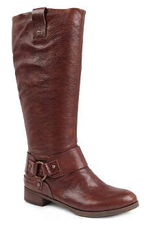 VINTAGE AMERICA Valcaria-n leather riding boots