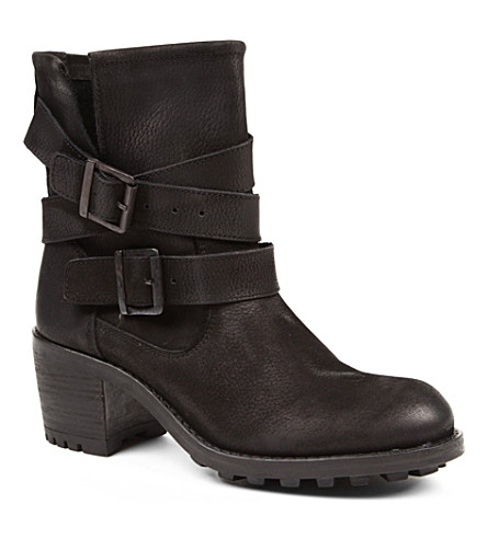 CARVELA Shower leather ankle boots (Black