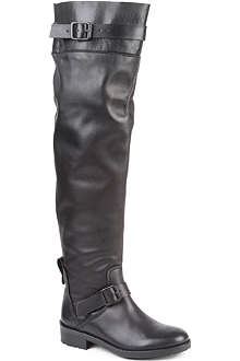 KG BY KURT GEIGER Vince leather riding boots