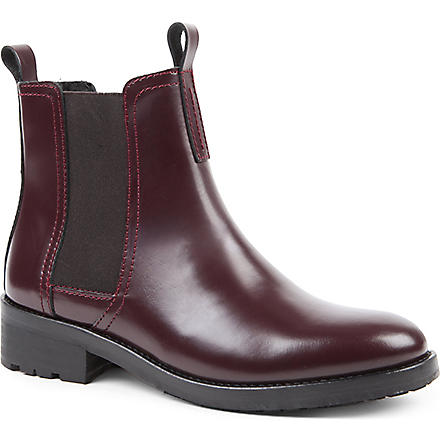 KG BY KURT GEIGER Stomp Chelsea boots (Wine