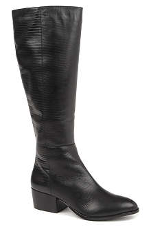 KG BY KURT GEIGER Valerie leather knee-high boots