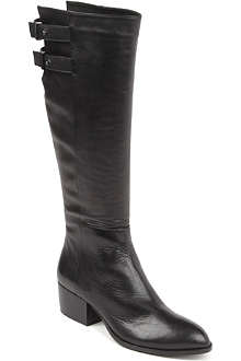 KG BY KURT GEIGER Valentina leather knee-high boots