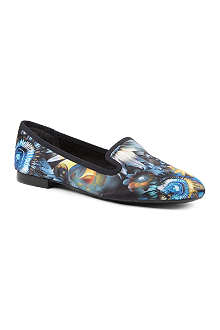 NINE WEST Lavalu floral loafers
