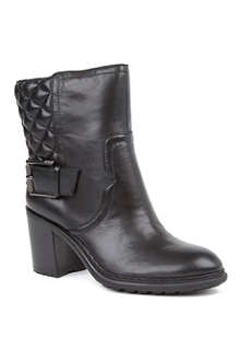 NINE WEST Layea leather ankle boots