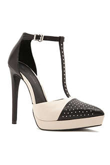 KG BY KURT GEIGER Clemence studded Mary-Jane courts