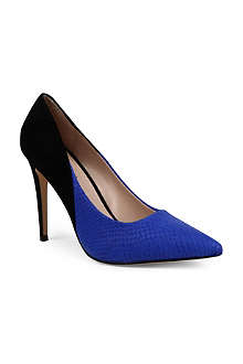 CARVELA Ash two-tone court shoes