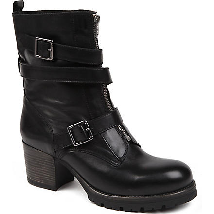 CARVELA Slam leather ankle boots (Black