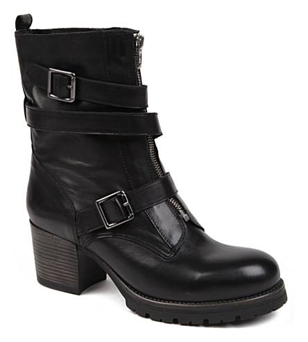 CARVELA Slam leather ankle boots (Black