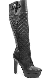 NINE WEST Hennie knee-high quilted boots