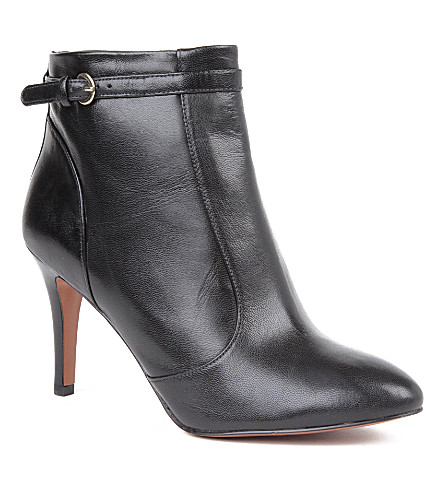 NINE WEST Mainstay leather ankle boots (Black