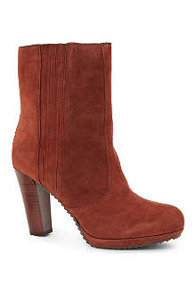 NINE WEST Perusha suede ankle boots