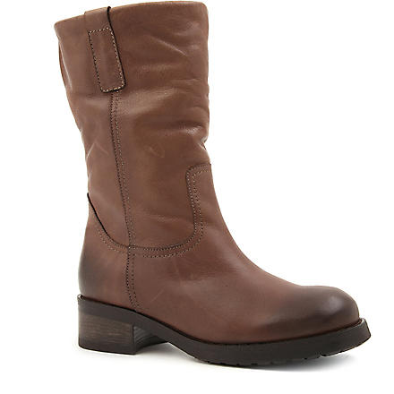 CARVELA Wide leather ankle boots (Taupe
