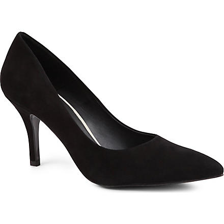 KG BY KURT GEIGER Bastille suede courts (Black