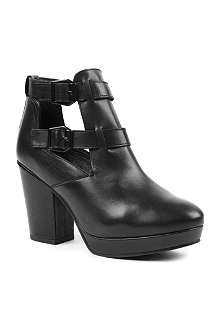 KG BY KURT GEIGER Stampede leather ankle boots