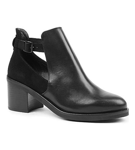 KG KURT GEIGER Split leather ankle boots (Black