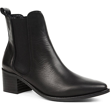 KG KURT GEIGER Sonic leather Chelsea boots (Black