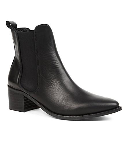 KG KURT GEIGER Sonic leather Chelsea boots (Black