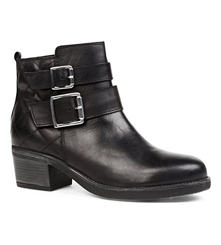 CARVELA Sputnik leather ankle boots (Black