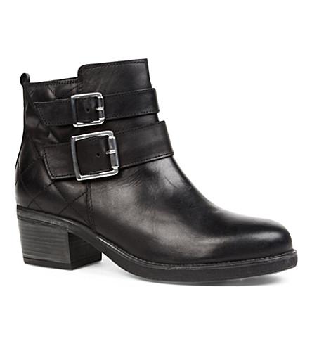 CARVELA Sputnik leather ankle boots (Black