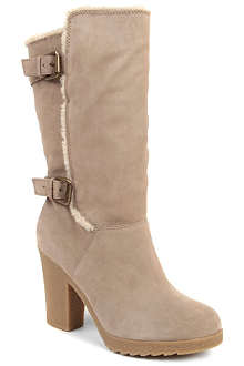 NINE WEST Marcela suede knee-high boots