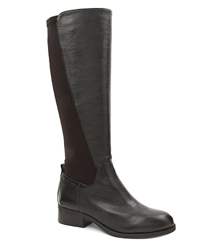 NINE WEST Partay panelled knee-length boots (Black