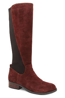 NINE WEST Partay suede knee-length boots