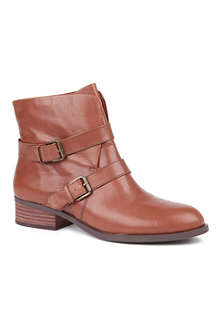 NINE WEST Pippy leather ankle boots