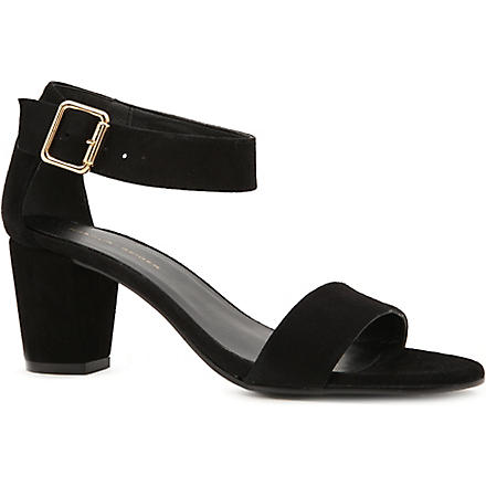 KG BY KURT GEIGER Nina suede sandals (Black/comb