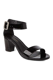 KG BY KURT GEIGER Nina patent leather sandals