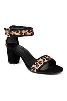 KG BY KURT GEIGER Nina ponyskin sandals