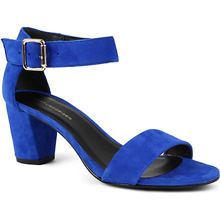 KG KURT GEIGER Nina suede sandals (Blue