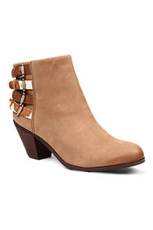 SAM EDELMAN Lucca leather ankle boots