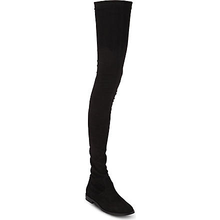 KG BY KURT GEIGER Vesper thigh-high boots (Black