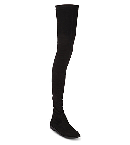 KG KURT GEIGER Vesper thigh-high boots (Black
