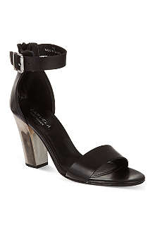 CARVELA Krispy leather heeled sandals