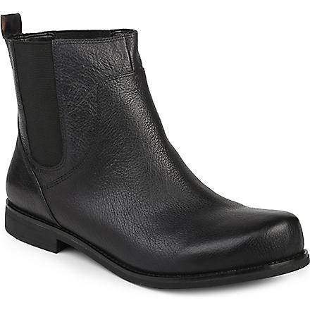 NINE WEST Figama leather Chelsea boots (Black