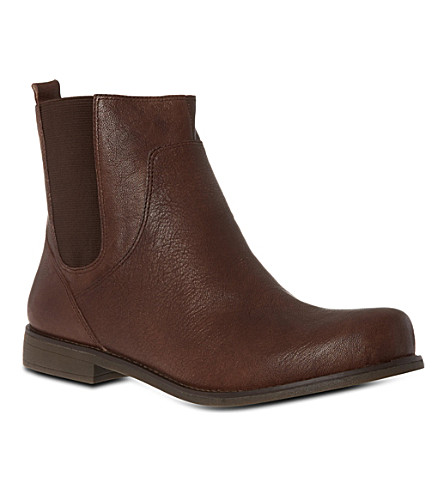 NINE WEST 7figama leather Chelsea boots (Brown
