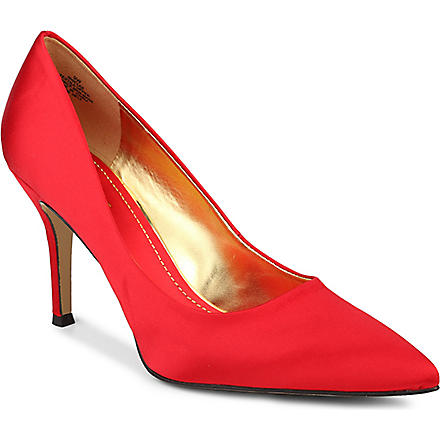 NINE WEST Flax satin courts (Red