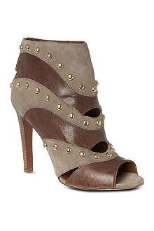 NINE WEST Ezzy peep toe ankle boot