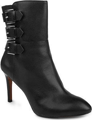 NINE WEST Petti leather ankle boots