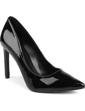 NINE WEST Tatiana patent leather court shoes