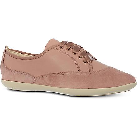 NINE WEST Kindofcute leather trainers (Pink