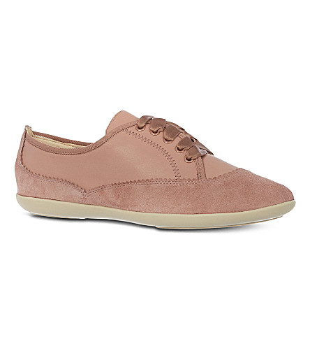 NINE WEST Kindofcute leather trainers (Pink